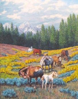 Art Kober's, Teton Spring.