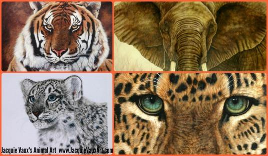 Jacquie Vaux's Animal Art Campaign