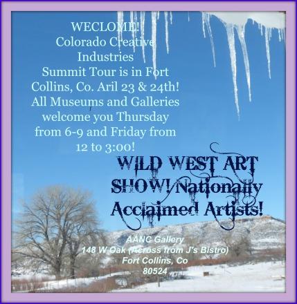 AACN WILD WEST ART SHOW!